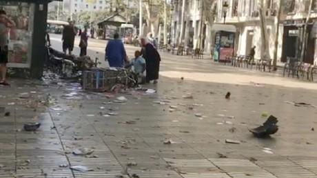 عدد من المصابين في هجوم بحافلة في كتالونيا الإسبانية