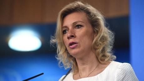 ماريا زاخاروفا الناطقة باسم الخارجية الروسية