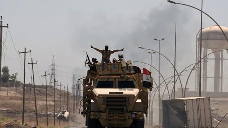القوات العراقية في الطريق إلى تلعفر