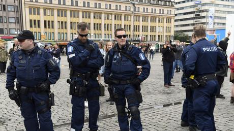 الشرطة في موقع الهجوم
