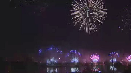 مهرجان الألعاب النارية الدولي في موسكو