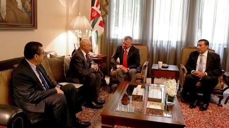 الملك عبد الله الثاني يستقبل عقيلة صالح رئيس مجلس النواب الليبي