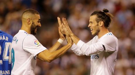 ريال مدريد يهزم ديبورتيفو لاكورونا في الليغا