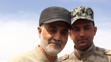 اللواء قاسم سليماني، قائد فيلق القدس التابع للحرس الثوري الإيراني