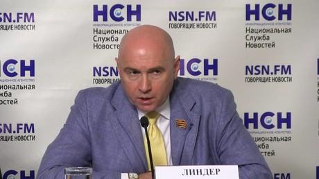 يوسف ليندر -رئيس الرابطة الدواية لمكافحة الإرهاب