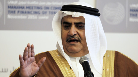 وزير الخارجية البحريني الشيخ خالد بن أحمد آل خليفة
