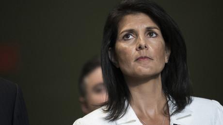 المندوبة الأمريكية الدائمة لدى الأمم المتحدة نيكي هايلي