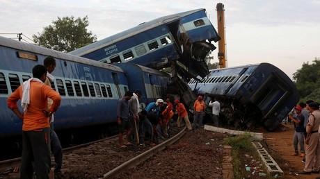 حادث قطار في الهند - أرشيف -