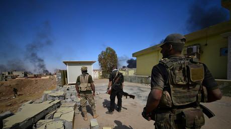 القوات العراقية تقتحم تلعفر