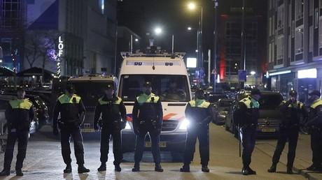 الشرطة في مدينة روتردام