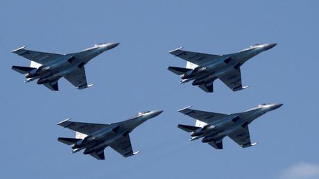 طائرات سو 35 الروسية