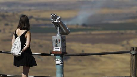 الحدود الإسرائيلية السورية