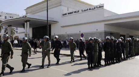 عناصر الشرطة المغربية