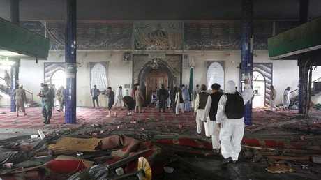 مسجد الإمام زمان بعد الهجوم