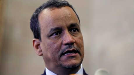 المبعوث الأممي الخاص إلى اليمن، إسماعيل ولد الشيخ أحمد.