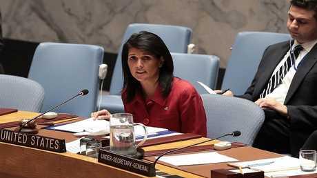 أرشيف - نيكي هايلي سفيرة أمريكا لدى الأمم المتحدة