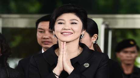 رئيسة وزراء تايلاند السابقة ينغلوك شيناواترا