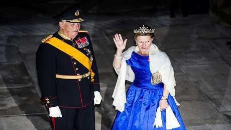 ملكة النرويج سونيا وملك النرويج هارلد الخامس