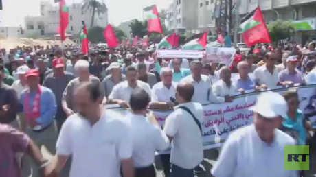 الجبهة الشعبية تدعو لإنهاء الانقسام