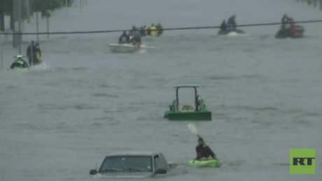 تكساس تغرق