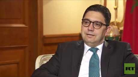 وزير الشؤون الخارجية والتعاون الدولي في المغرب ناصر بوريطة