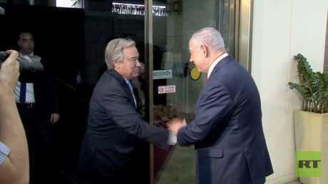 غوتيريش في زيارة إلى القدس ورام الله