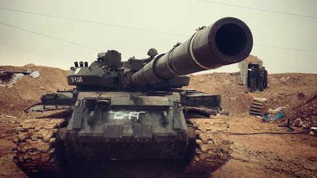 دبابة للجيش السوري