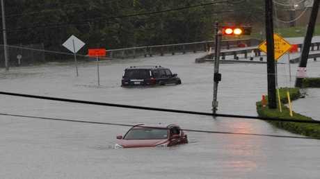 فيضانات في هيوستن الأمريكية 27 أغسطس/آب 2017