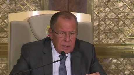 لافروف يدعو المعارضة السورية للابتعاد عن لغة التهديد