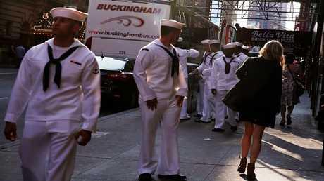 أرشيف - جنود أمريكيين في نيويورك