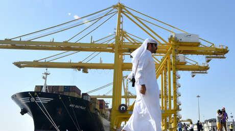 ميناء حمد في الدوحة
