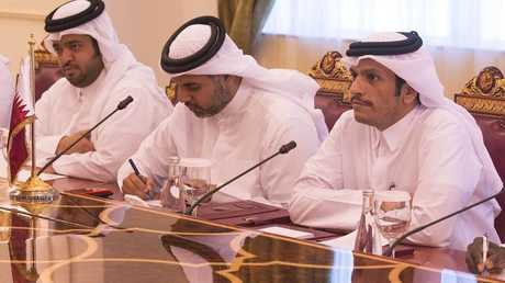 وزير الخارجية القطري محمد عبد الرحمن آل ثاني