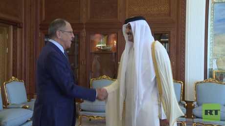 لافروف: ندعم حل أزمة الخليج عبر الحوار