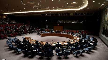 إحدى جلسات مجلس الأمن الدولي