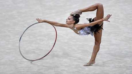 بطلة الجمباز الروسية دينا أفيورينا