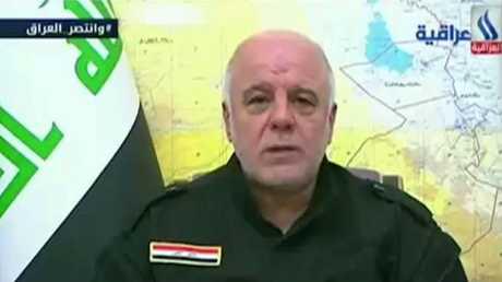 """العبادي يعلن طرد """"داعش"""" من كامل نينوى"""