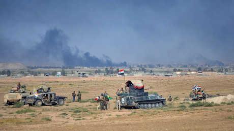 القوات المشاركة في عملية تحرير قضاء تلعفر