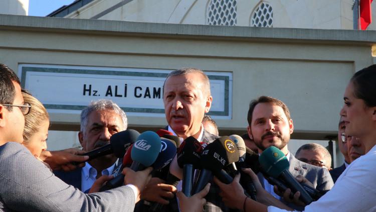 أردوغان يصف