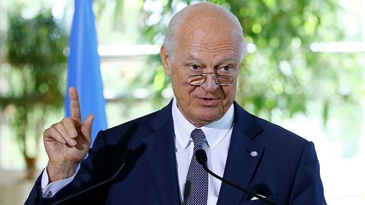 دي ميستورا: الحرب في سوريا تشرف على النهاية لكن ماذا بعد؟