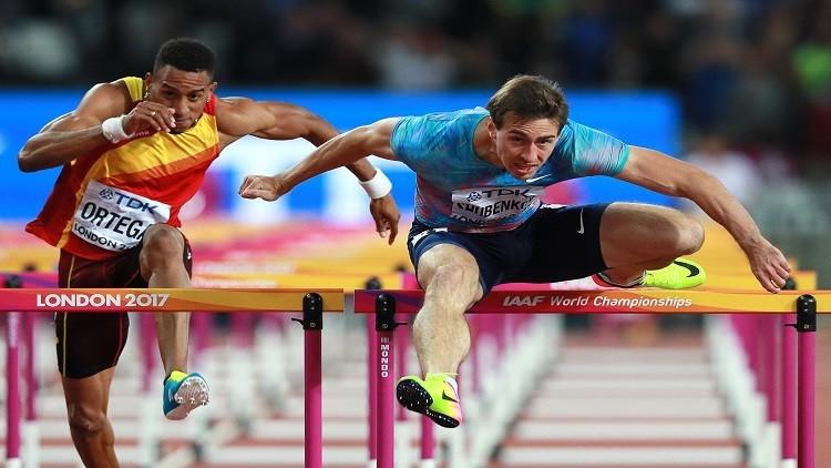 الروسي شوبينكوف يفوز بذهبية لقاء بروكسل لألعاب القوى