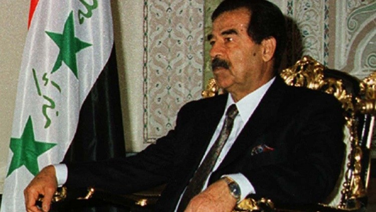 بالصور.. على هذه الرقعة لعب صدام حسين