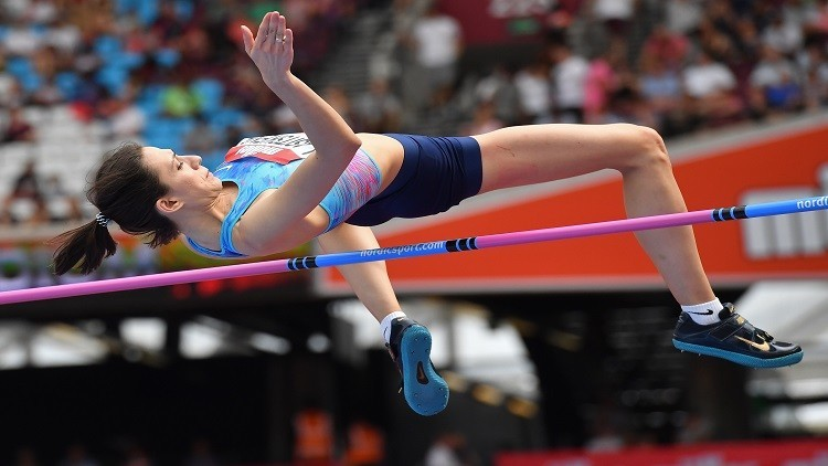 الروسية لاسيتسكيني تفوز بلقاء بروكسل لألعاب القوى