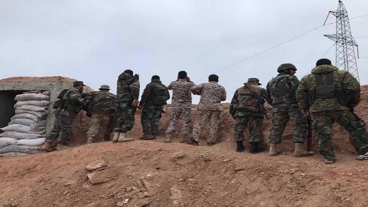 الجيش السوري يستعيد مناطق كانت تحت سيطرة