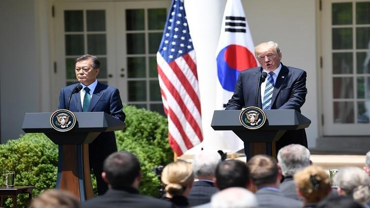 ترامب بصدد الانسحاب من اتفاق التجارة الحرة مع كوريا الجنوبية