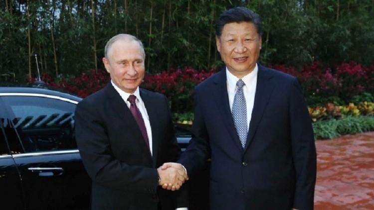 الزعيمان الروسي والصيني يتفقان على التعامل بـ