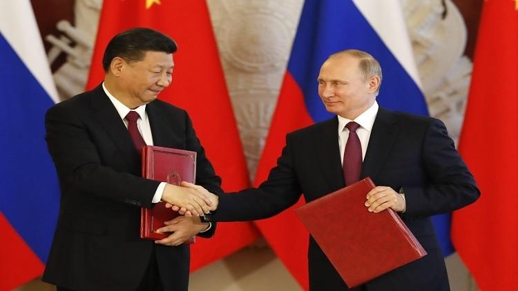 الهدايا التي تبادلها الرئيسان الروسي والصيني