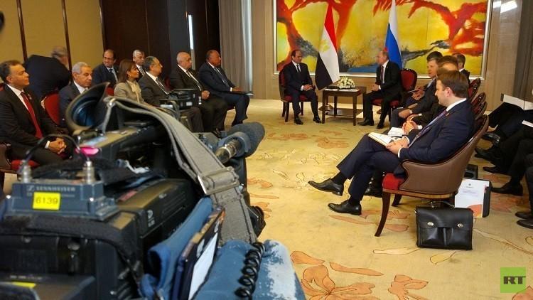 السيسي يدعو بوتين للمشاركة في مراسم توقيع اتفاق الضبعة النووي