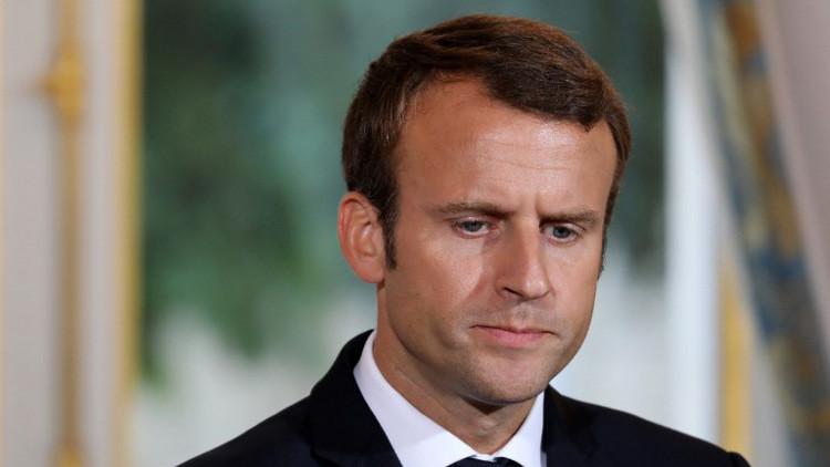 استطلاع: تراجع كبير لشعبية الرئيس الفرنسي إمانويل ماكرون