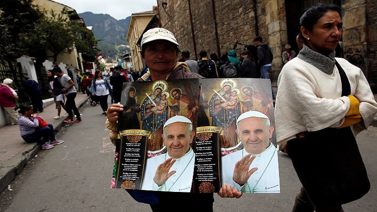 بابا الفاتيكان ينوي زيارة كولومبيا لتعزيز السلام