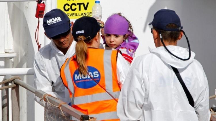 منظمة إنقاذ إيطالية تغادر المتوسط لأنقاد مسلمي
